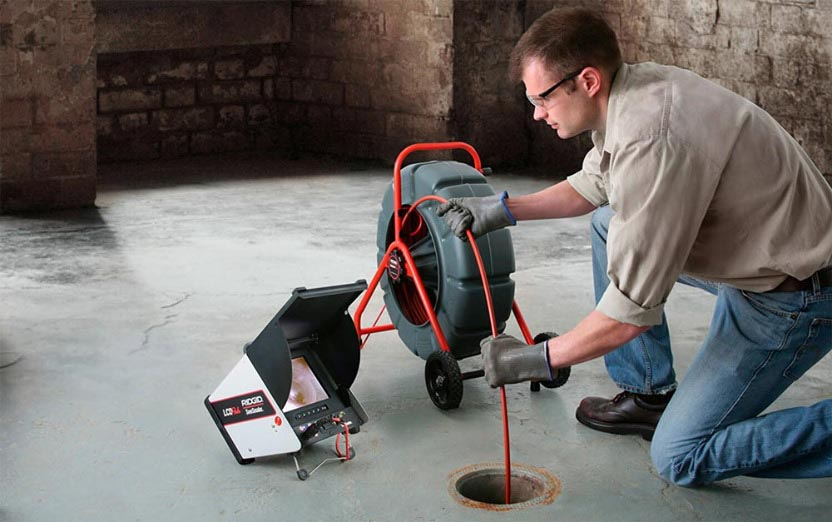 sewer camera inspection services in Concord, NC
