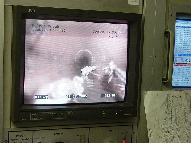 sewer camera inspection services in Gastonia, NC